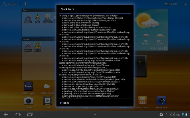 Pocket League Story Lite crash feedback 2