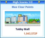High Score: Max Clear Points