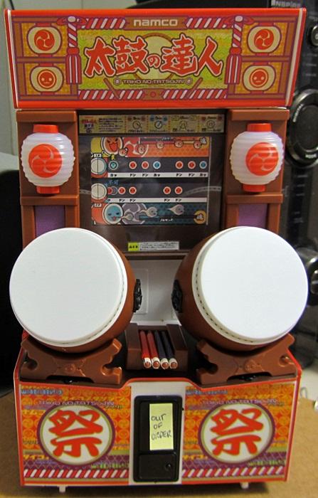 Taiko no Tatsujin Arcade Cabinet Replica done!