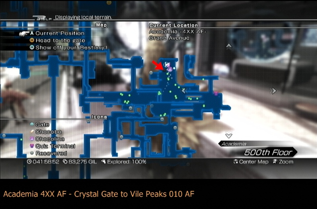 Ffxiii 2 Crystal Gate Locations Destinations Guide Minor
