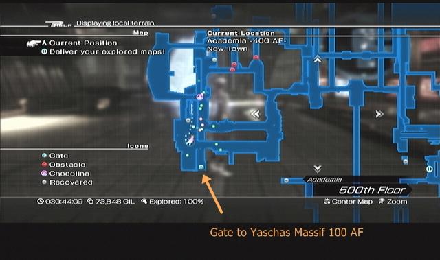 Academia 400 AF -- Gate to Yaschas Massif 100 AF