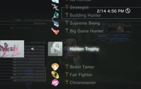 FFXIII-2: Some gold trophies
