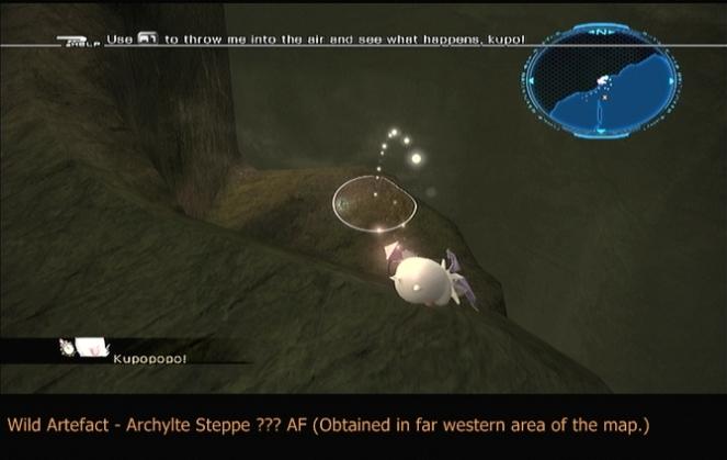 Wild Artefact in Archylte Steppe ??? AF
