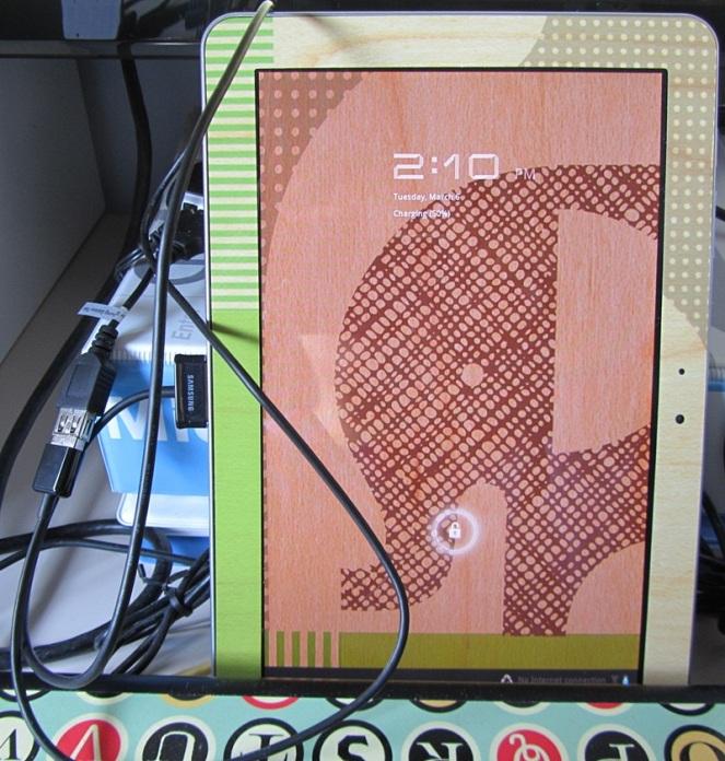 Charging the Galaxy Tab 10.1 with a USB hub