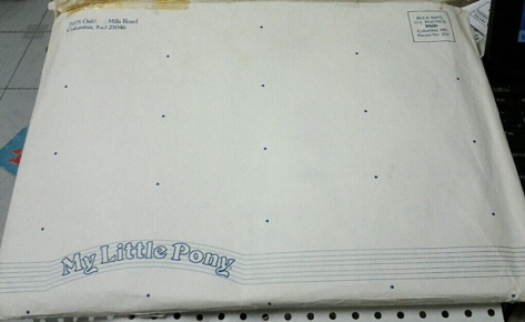 My Little Pony Fan Club Envelope