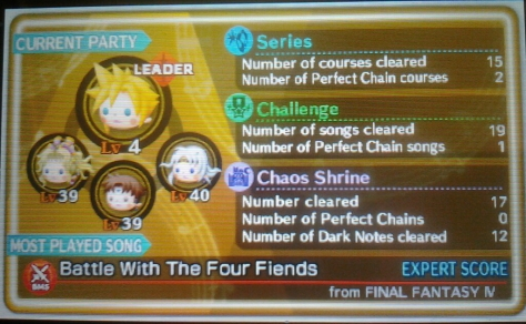 Theatrhythm ProfiCard back
