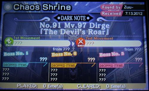 """High end"" Dark Note Score :("