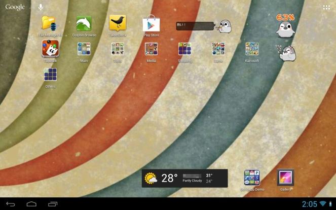 My Galaxy Tab 10.1 with CyanogenMod 10