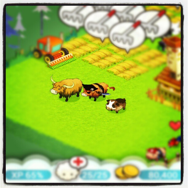 Tiny Farm: The Pirate Highlander and parents~!