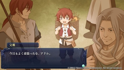 Ys Celceta - Little Adol. ^o^~