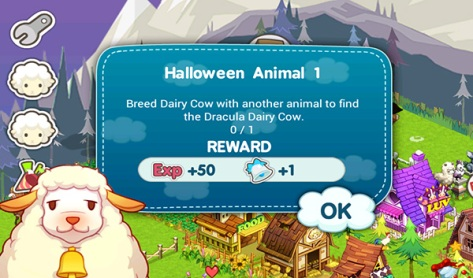 Tiny Farm - Level 2 Halloween Animal 1