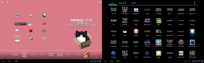 Minimal Text Theme
