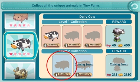 Tiny Farm - Look for Talking animals!