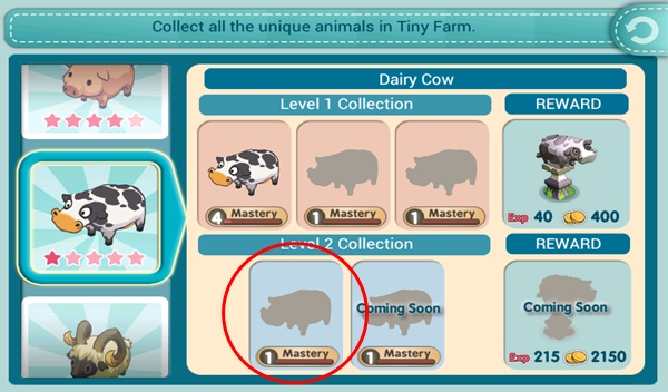 Tiny Farm - Look for Talking animals!
