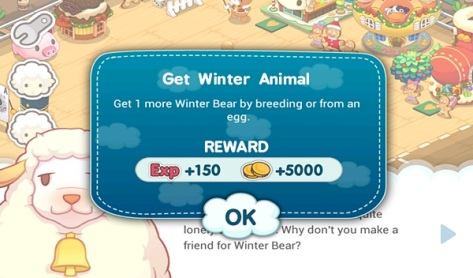Tiny Farm - 2nd part of Winter Bear quest