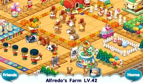 Winter Bears in Alfredo/Com2uS)'s farm