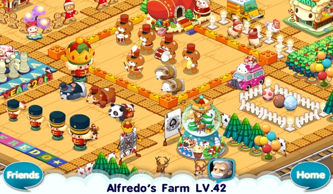 Winter Bears in Alfredo/Com2uS)'s farm