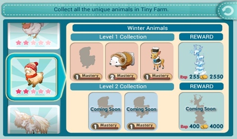 Tiny Farm - Winter Collection - No Winter Alpaca :(