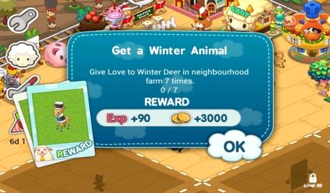 Tiny Farm - Winter Deer Quest