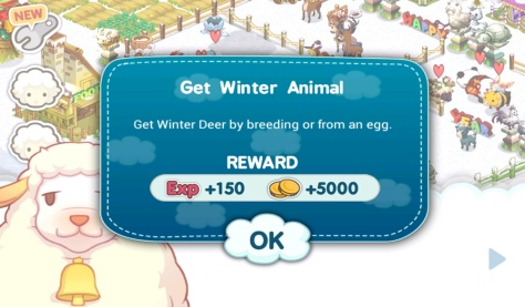 Tiny Farm - 2nd Winter Deer Objective