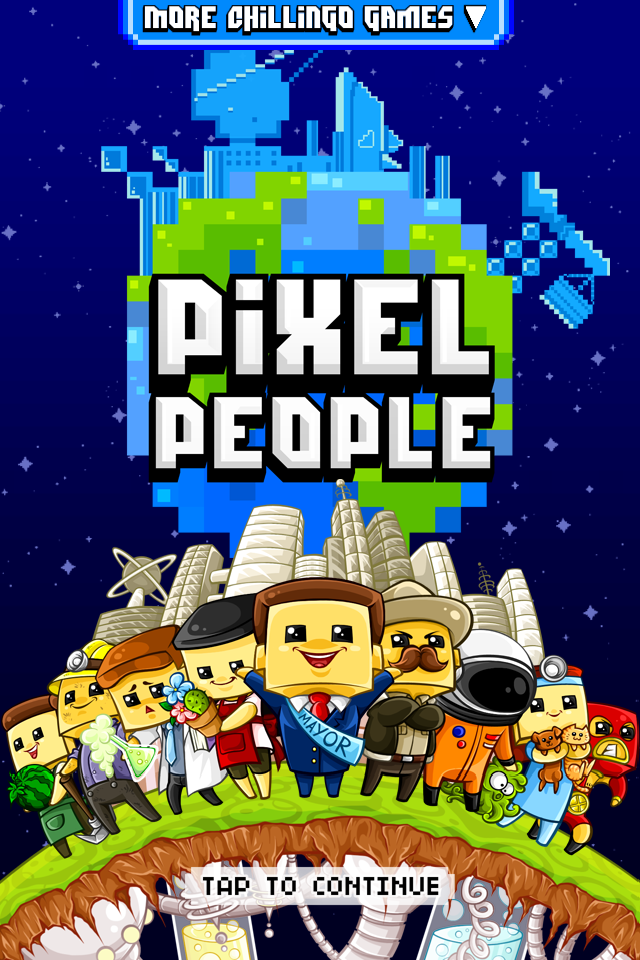 Pixel People - Title Image
