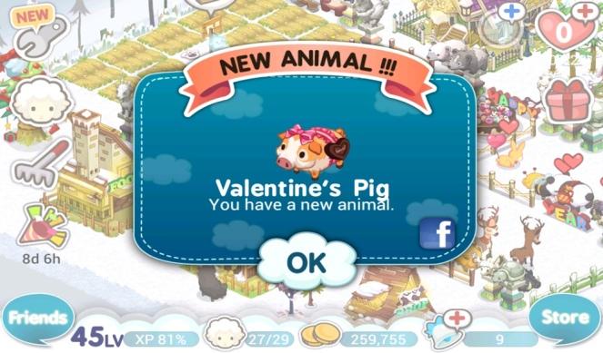 Tiny Farm V-Day 2013 - Valentine's Pig