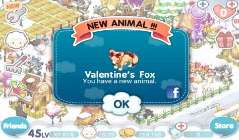 Tiny Farm V-Day 2013 - Valentine's Fox