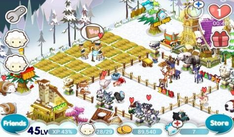 Tiny Farm - Winter Deers~!