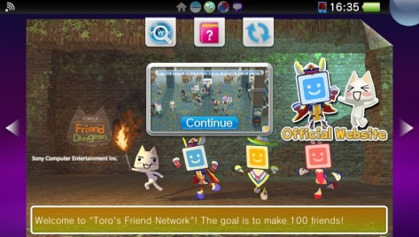 Toro's Friend Network