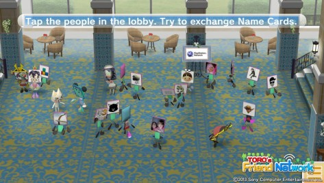 Toro's Friend Network - Too many naked people in the lobby