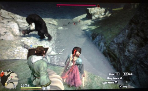 Dragon's Dogma: Dark Arisen - Cyclops and Soaked Harpies