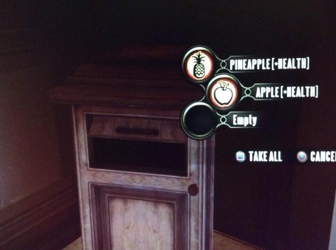 BioShock Infinite - Booker's always hungry!