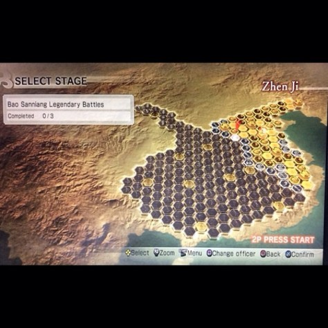 Dynasty Warriors 7 - Damn amount of nodes!