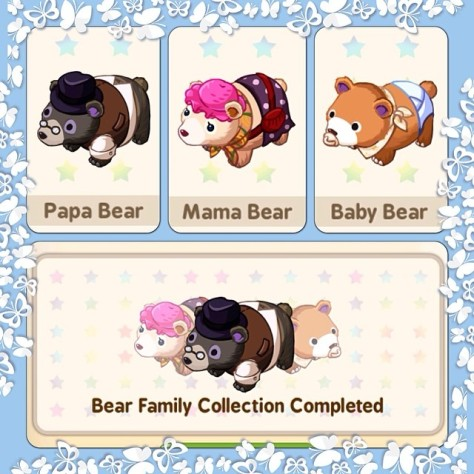 Tiny Farm Bear Family