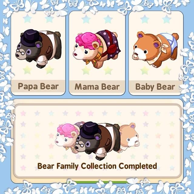 Tiny Farm Bear Family