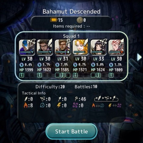Terra Battle - Bahamut Event