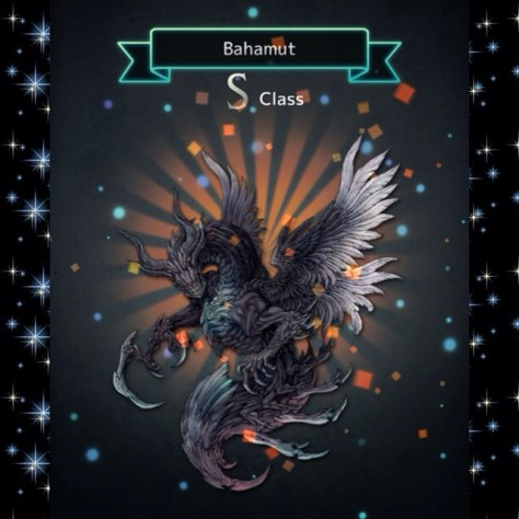 Terra Battle - Bahamut in space! XD