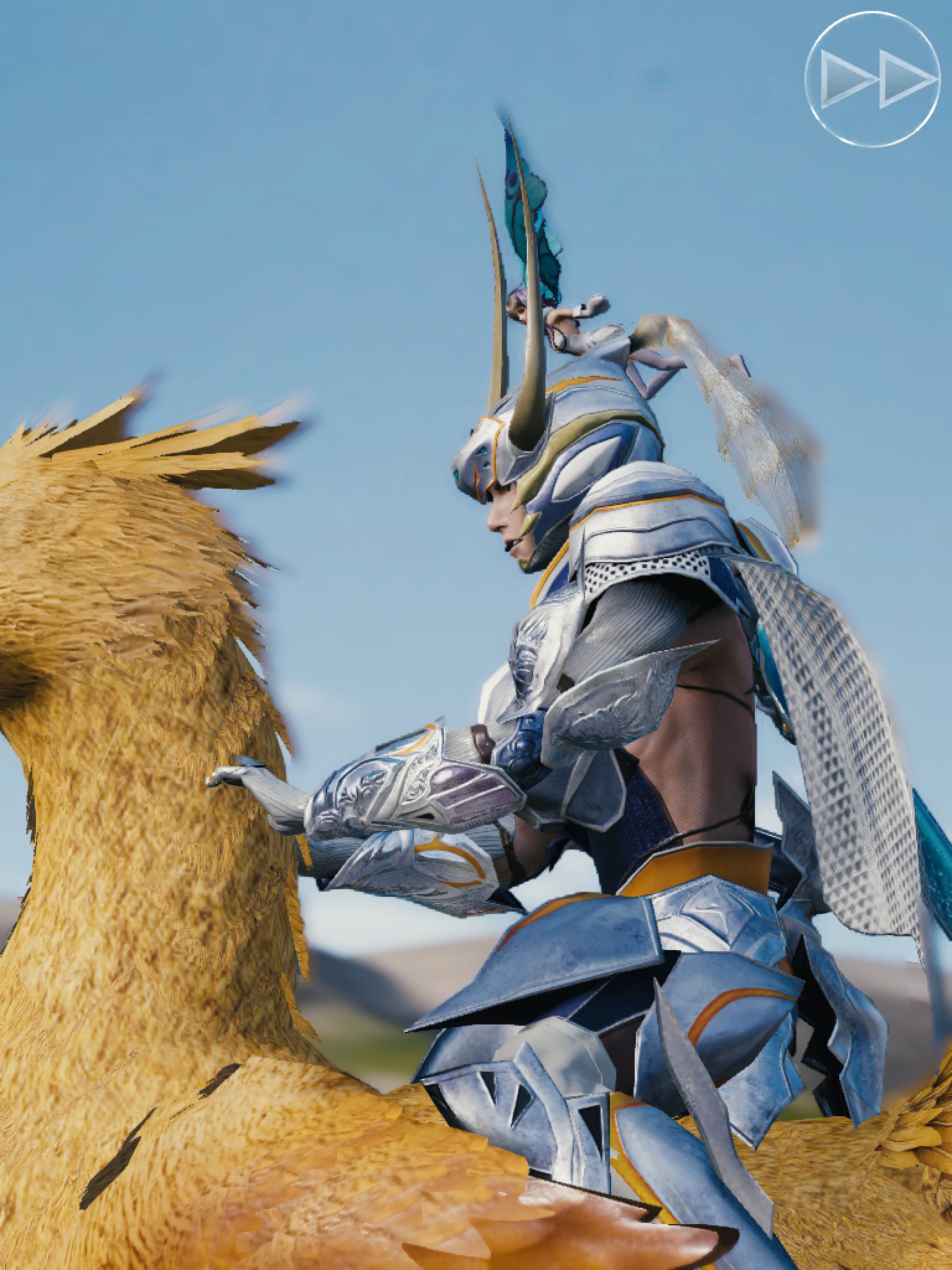 Mobius Final Fantasy Fight De Chocobo The End
