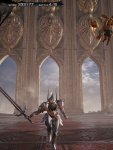 Mobius Final Fantasy - Knight charging into battle