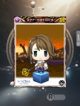 Mobius Final Fantasy - Yuna Pictlogica card