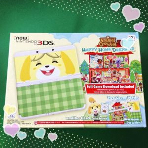 Animal Crossing Happy Home Designer New 3DS Bundle