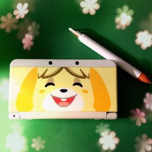 New 3DS with Isabelle cover plate