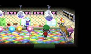Animal Crossing Happy Home Designer - Party animals