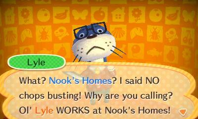 Animal Crossing Happy Home Designer - Lyle