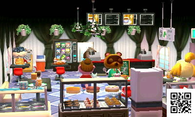 Animal Crossing Happy Home Designer - Cafe
