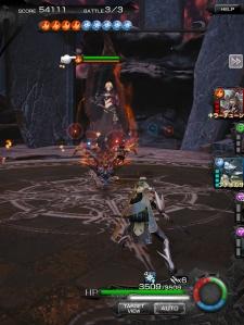 Terra Battle x Mobius Final Fantasy - Fighting Bahl