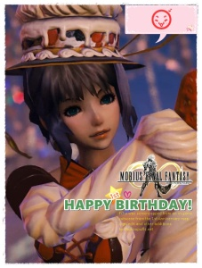 Mobius Final Fantasy - Echo celebrates the 1st anniversary of Mobius FF
