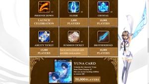 Mobius Final Fantasy EN pre-reg rewards