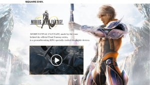 Official Mobius Final Fantasy English North American Website