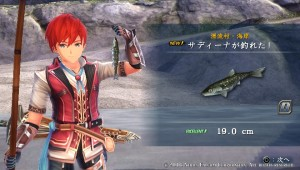 Ys VIII - First Catch!